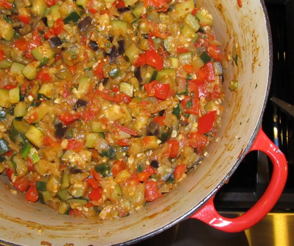 pot of ratatouille