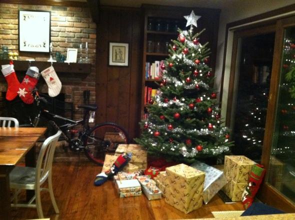 xmas tree 2013 w presents